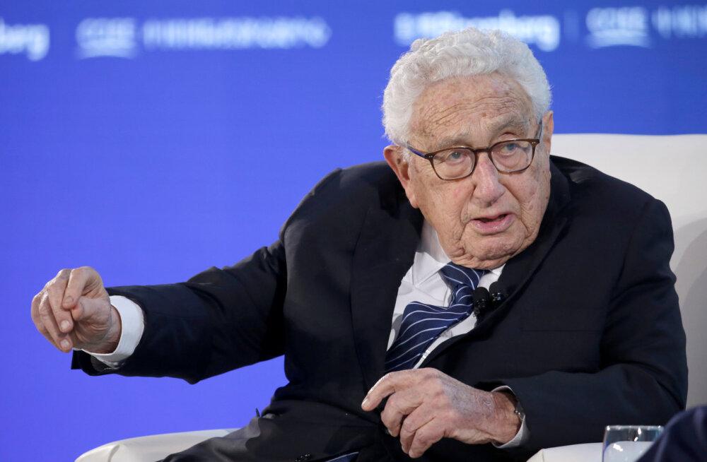 Kissinger hoiatas Bidenit Hiina eest: tegutsege, enne kui puhkeb sõjaline konflikt