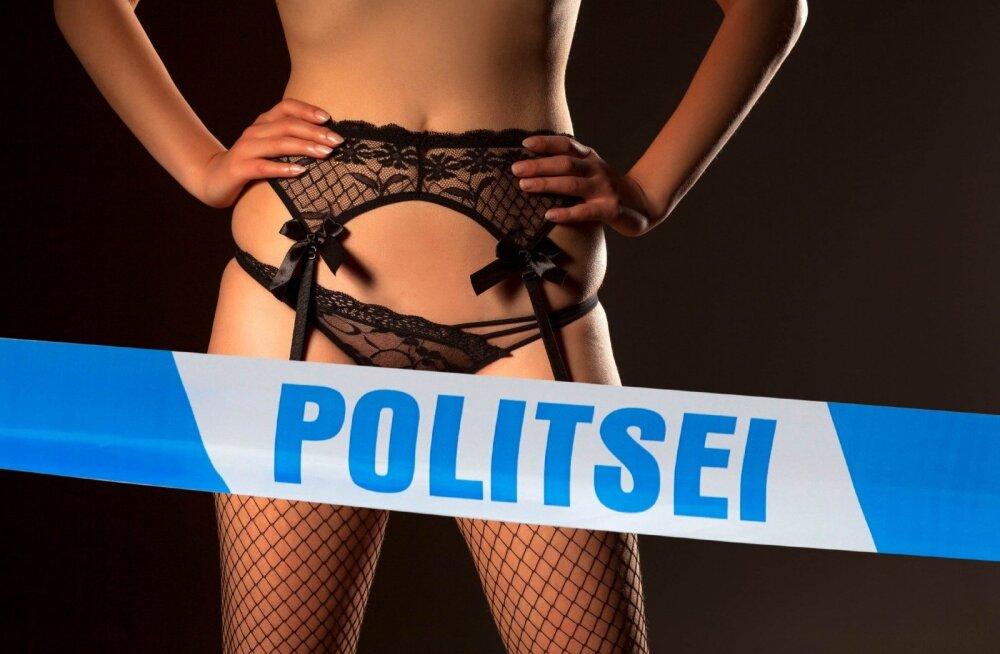 """Конец эпохи: полиция """"накрыла"""" последний из остававшихся в Таллинне """"крупных борделей"""""""