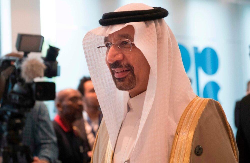 Saudi Araabia energeetikaminister Khalid al Falih