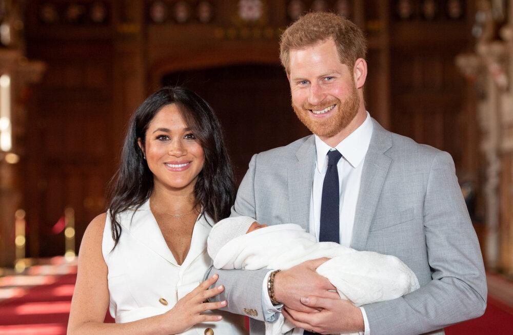 FOTOD | Emaduse sära ja kuninglik beebi: Meghan Markle näeb pärast sünnitust imeline välja
