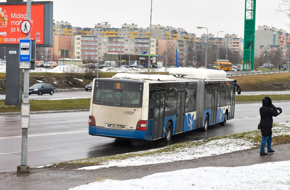 Liinibussid rikuvad liiklust