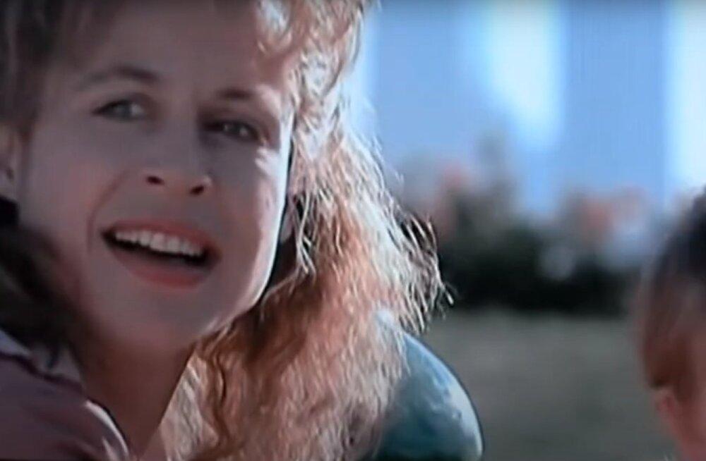 """Лесли Хэмилтон в эпизоде фильма """"Терминатор-2"""""""