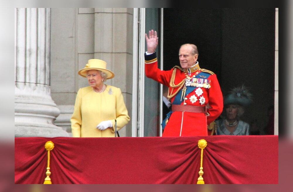 Kuninganna Elizabeth II ja Edinburghi hertsog Philip.