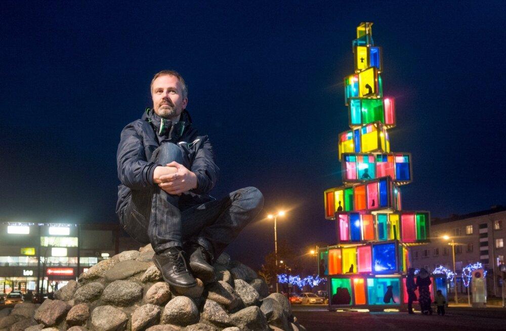 Rakvere linnakunstnik Teet Suur.