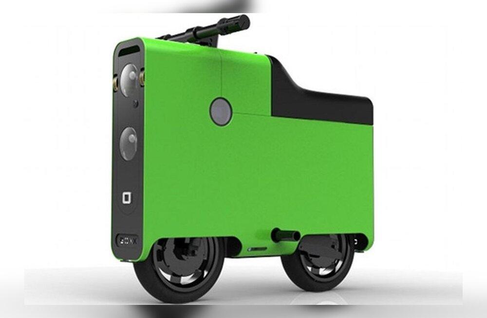 Kandiline elektriroller — stiilne linnaliikur või ratastega kohver?