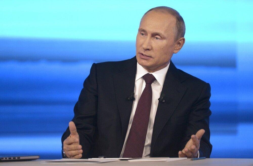 VIDEO: Putin: natsismi ja stalinismi ei tohi ühele pulgale asetada, stalinistliku režiimi kogu värdjalikkuse juures ei seadnud see kunagi oma eesmärgiks tervete etnoste hävitamist