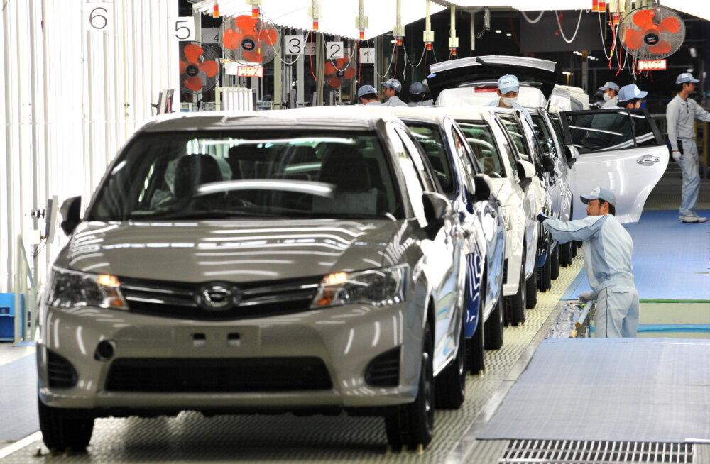 Eesti automüüjate karm reaalsus: kukkumine 32 protsenti