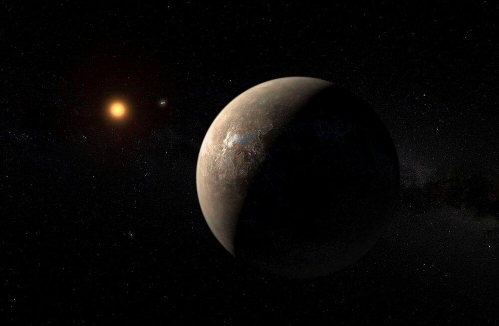 Päikesesüsteemile lähima tähe lähistel tiirleb Maa-sarnane planeet