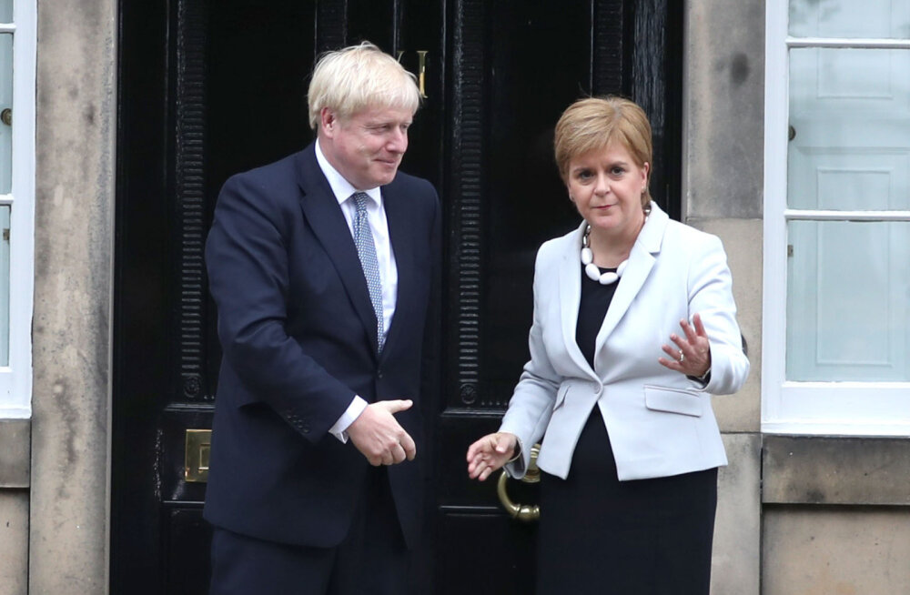 Джонсон отклонил просьбу Шотландии провести референдум о независимости