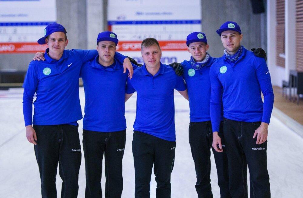 Eesti curlingumeeskond tuli Lätis toimunud MK-etapil teiseks