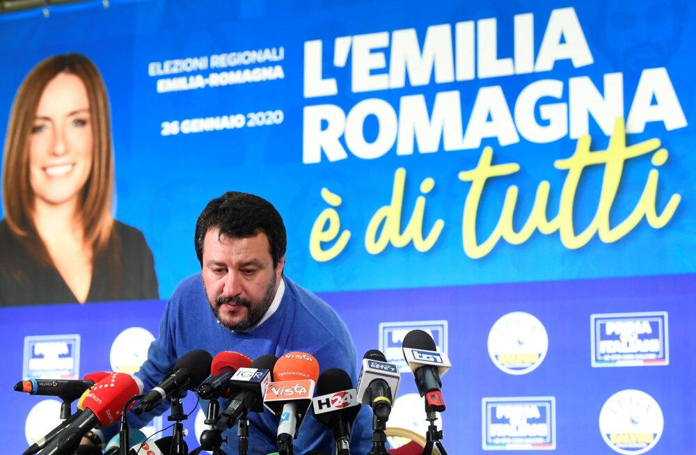 Itaalia paremäärmuslastel ei õnnestunud valimistel vallutada vasakpoolsete kantsi Emilia-Romagnat