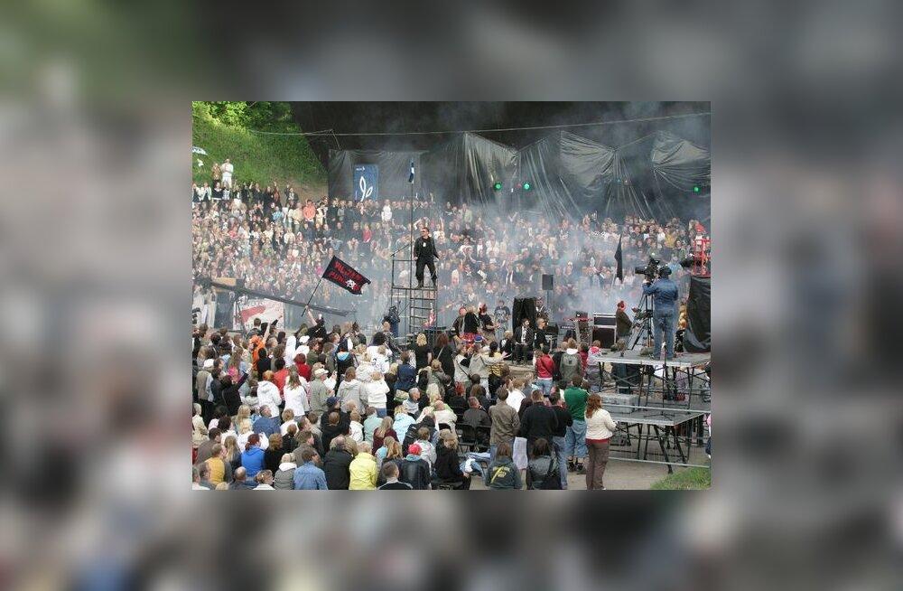 FOTOD: Rakveres toimus esimene punklaulupidu