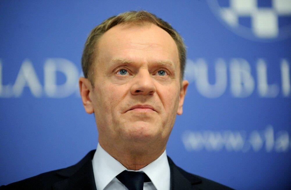 Donald Tusk majanduspagulastele: ärge tulge Euroopasse