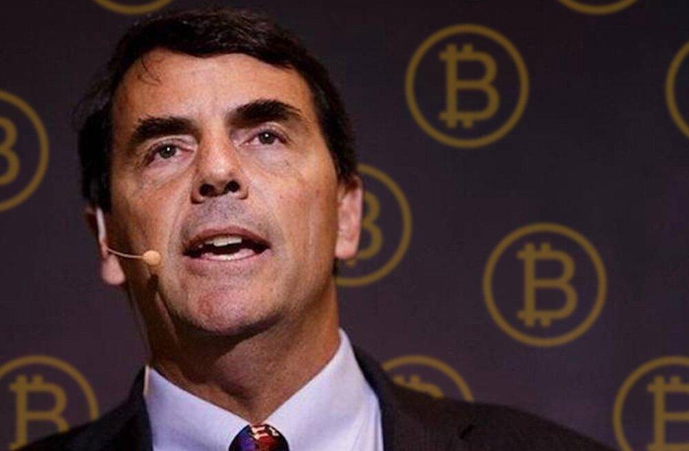 "Miljardär Tim Draper: ""Kui oled millenniumilaps, osta Bitcoini!"""