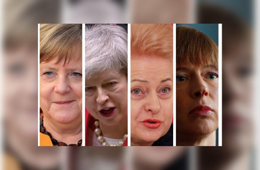 Merkelist ja Mayst Grybauskaitė ja Kaljulaidini: naissoost valitsusjuhid ja riigipead üle maailma