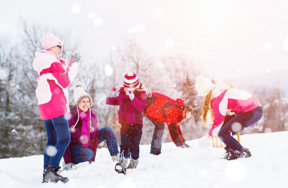 Lõpuks ometi lumi maas! 20 tujutõstvat tegevust, mida teha talvel