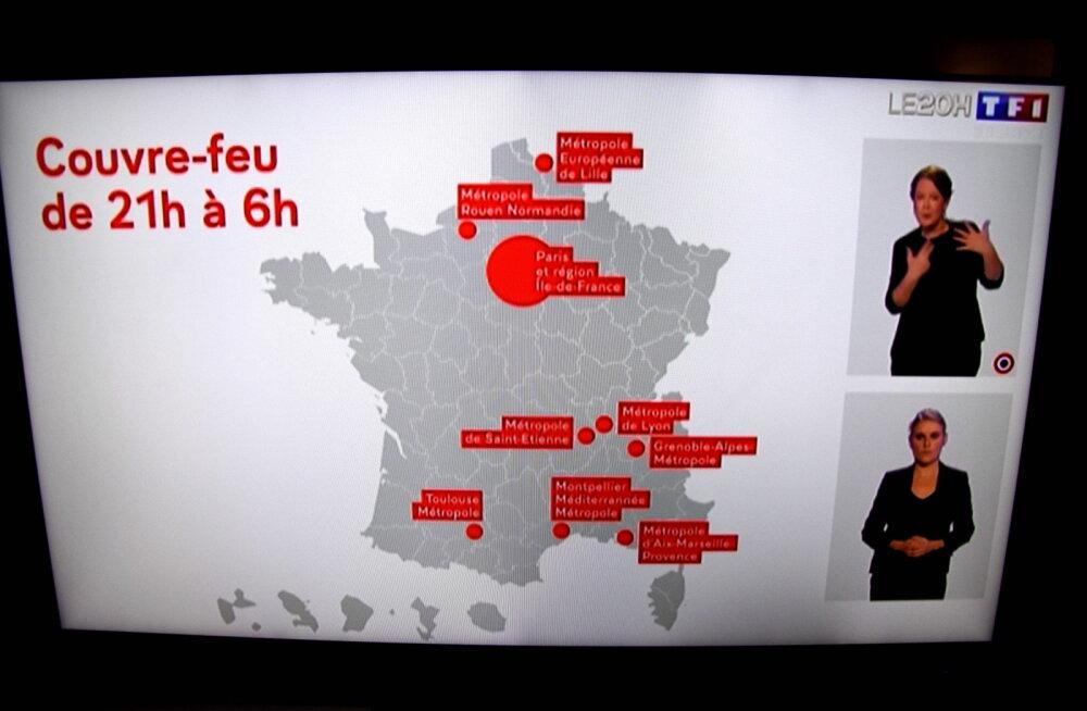 Prantsusmaal hüppas uute koroonajuhtumite arv päevas üle 30 000, rekordeid löödi ka mujal Euroopas