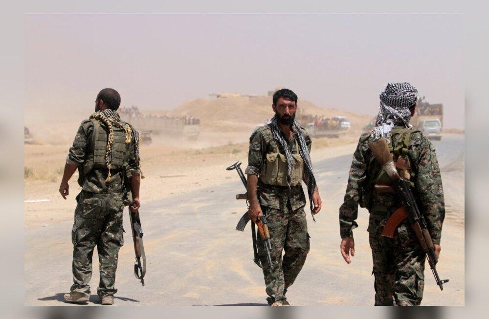 USA lõpetab väidetavalt Süüria kurdidele relvade tarnimise