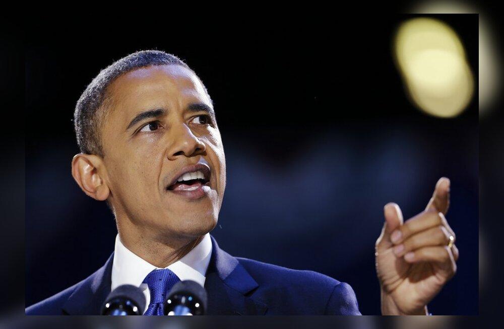 Obama tagasivalimisega rahulolematud ameeriklased tahavad USA-st eralduda