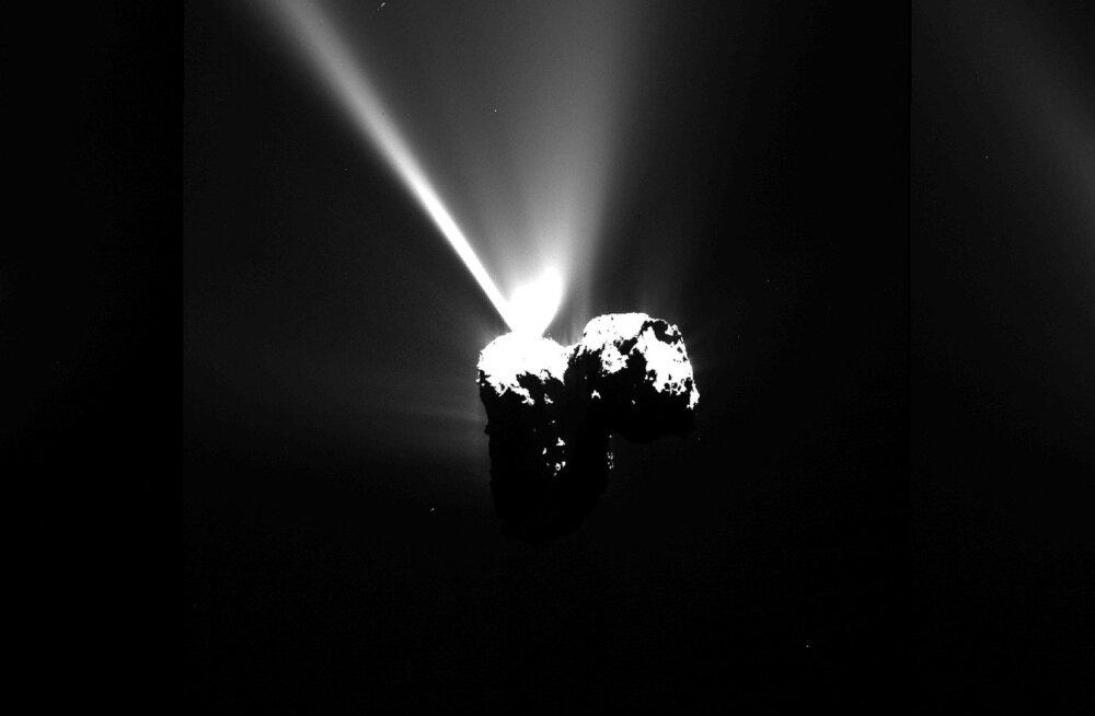 Täna hommikul: Rosetta tegi koos komeediga lähima möödalennu Päikesest