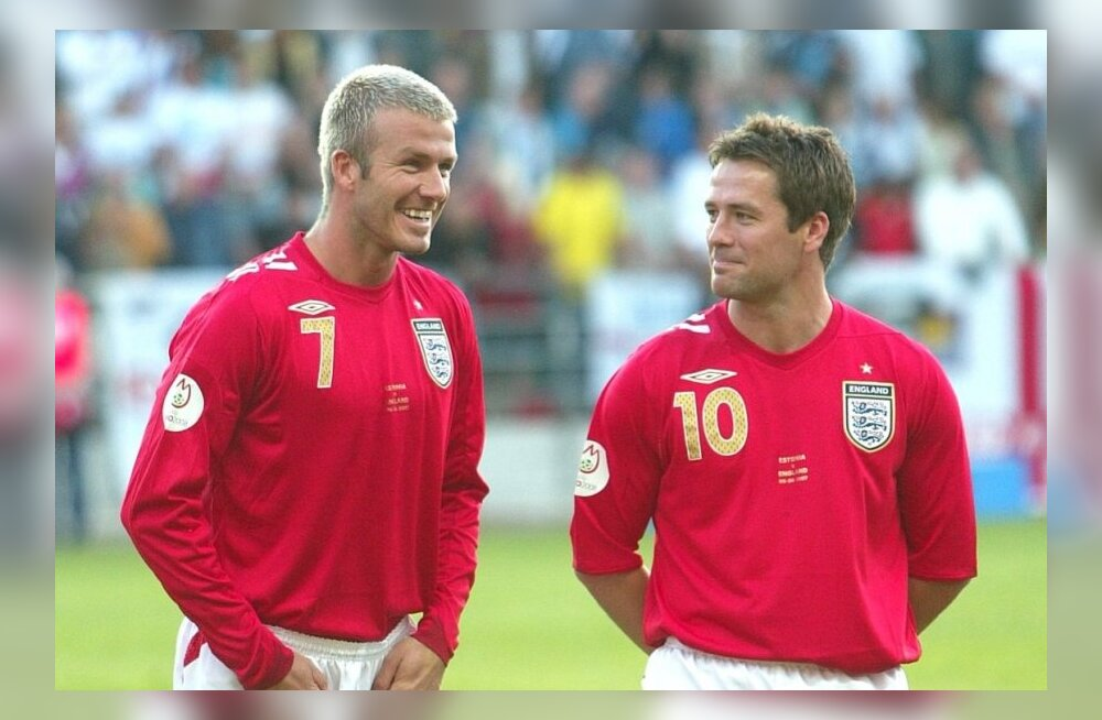 David Beckham ja Michael Owen