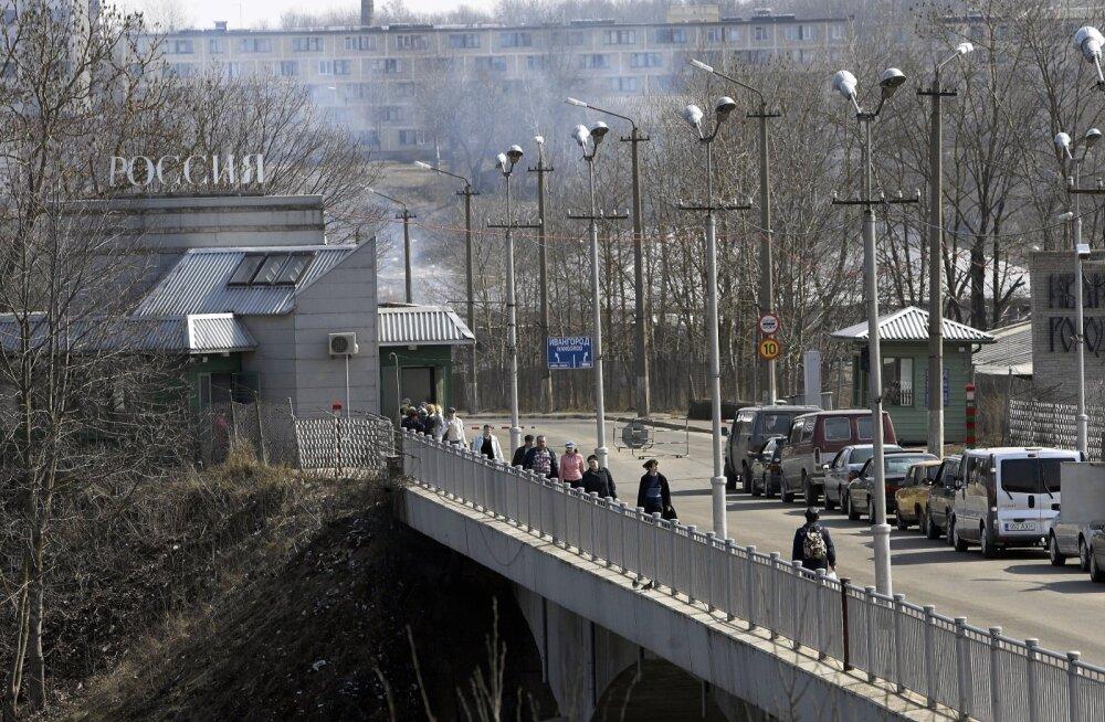 Россия расширит пункт пропуска на границе с Эстонией в Ивангороде