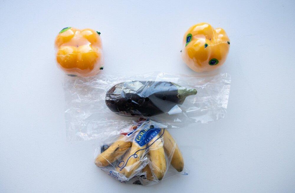 Kilesse pakitud toiduained