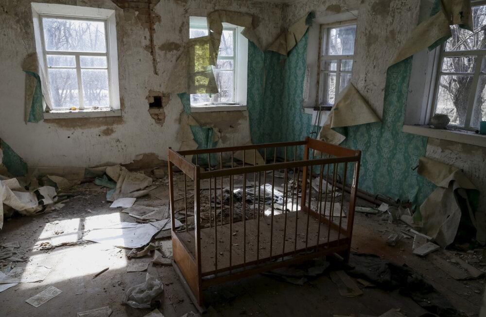Tšornobõli keelutsoonis sündinud beebi lugu: inimesed arvavad, et ta on mutant ja tal on kaks pead
