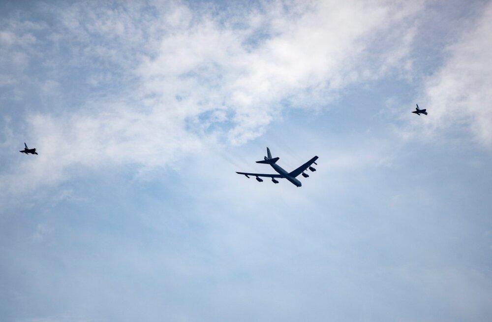B-52 Tallinna kohal 15.06.2020