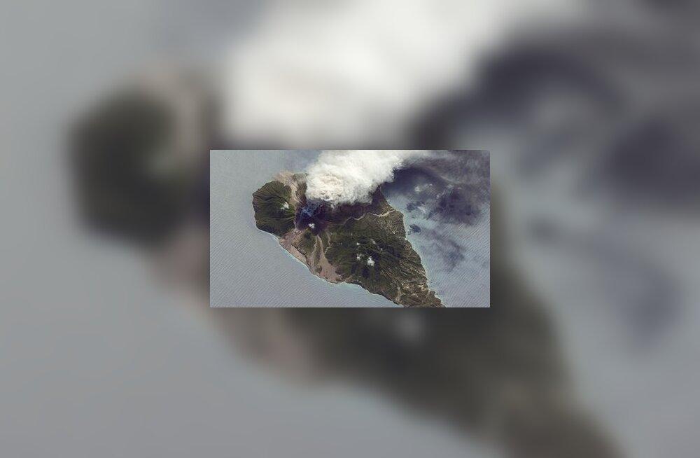 Ka väiksemat sorti vulkaanidel nagu Soufrière Hills'il on kliimale märgatav mõju