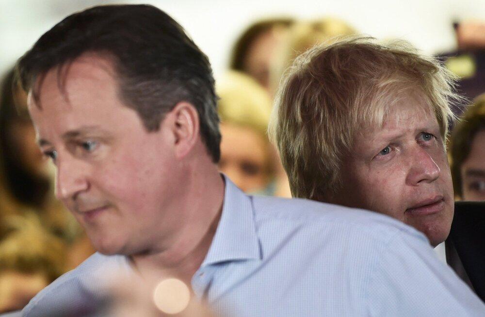 Cameron: Johnson toetas Brexitit ainult poliitilise kasu nimel