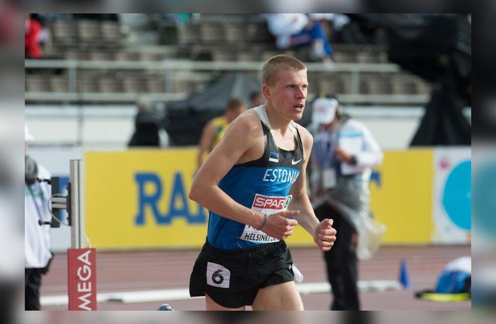 Kaur Kivistik saavutas 3000 meetri takistusjooksus 15. koha