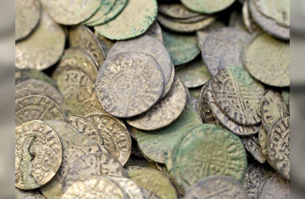 Lossi hoovist leitud münt pärineb 15. sajandist