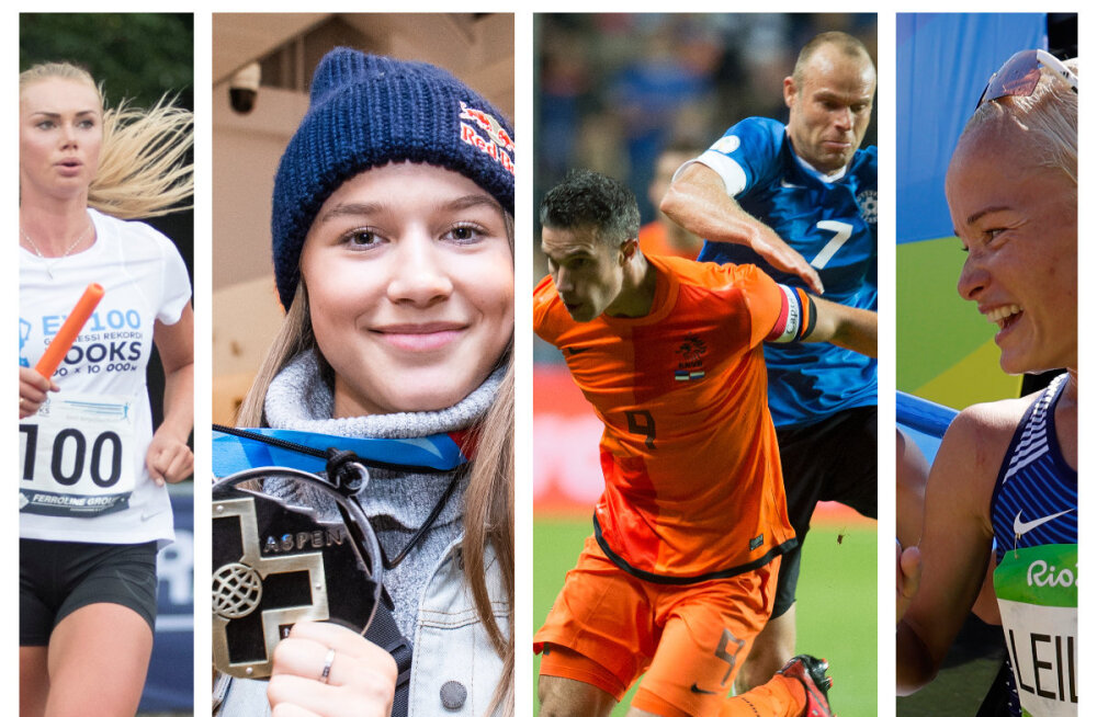 Eesti sportlased Guinnessi rekordite raamatus: Kelly Sildaru, jalgpallikoondis, rannavõrkpallurid ja 104 jooksjat