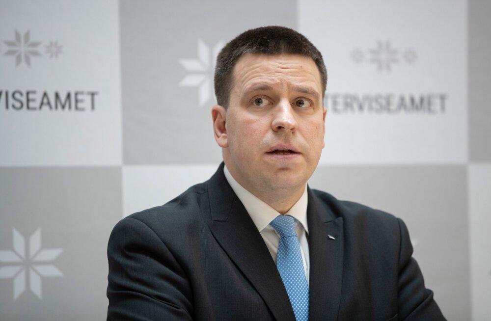Peaminister Jüri Ratas teeb homme riigikogu ees koroonaviiruse levikuga seoses erakorralise avalduse