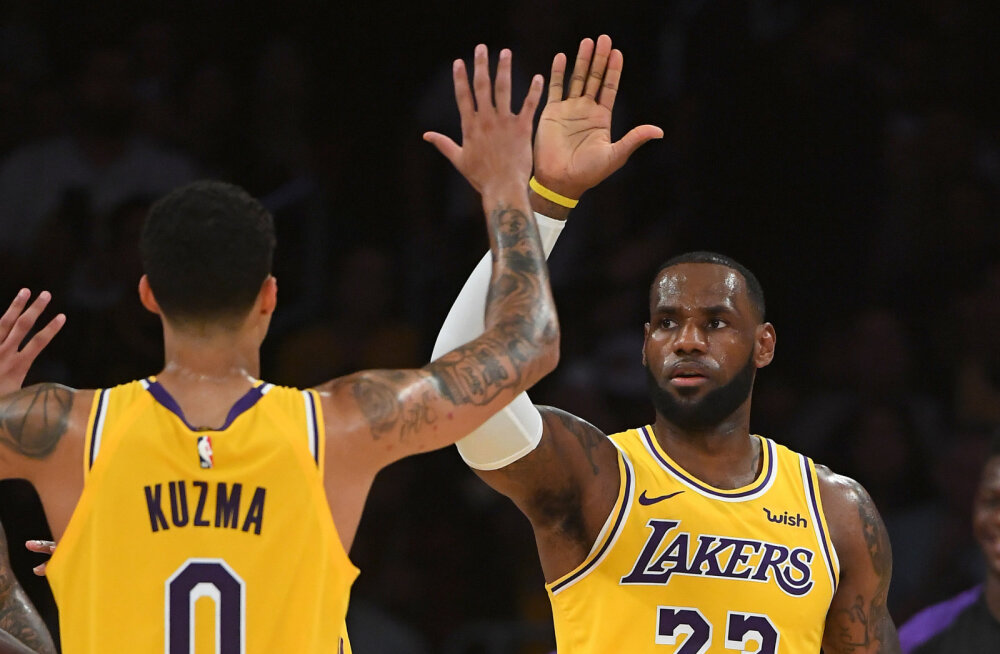 Kyle Kuzma ja LeBron James