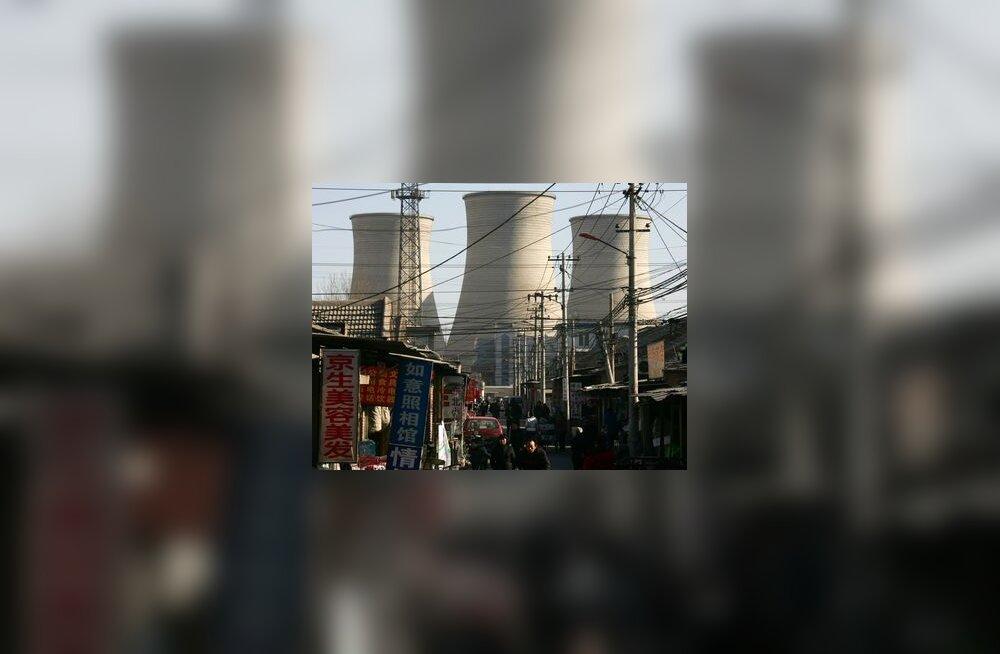 tuumajaam, aatom, saaste, reaktor, hiina, heitgaasid, kliima