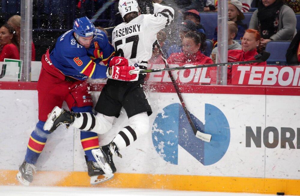 Jokerit tegi KHL-is võimsa jõudemonstratsiooniga ajalugu: kaheksa-null!