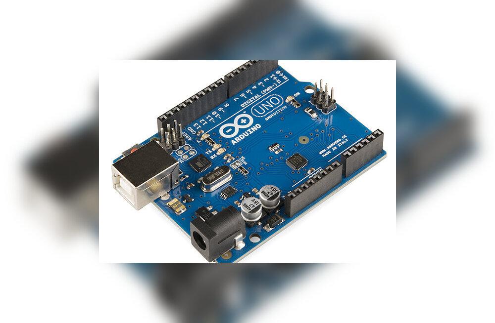 Il mio nome: Arduino – väike arvuti, millega oma tehnikaunistusi teostada