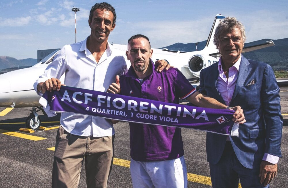 Franck Ribery hakkab Klavanit kimbutama