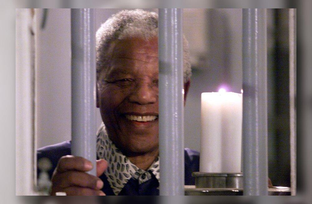 FOTOD ja VIDEO: Nelson Mandela parimad aastad möödusid vangipõlves