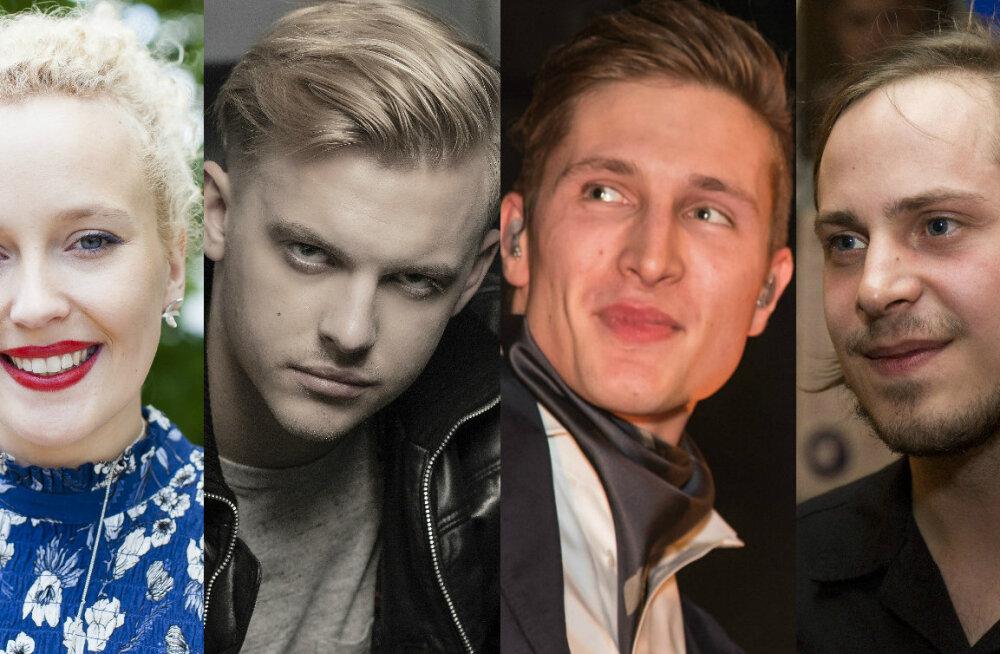 EMA 2017 nominendid selged: LOE, milliseid Eesti artiste peavad muusikaeksperdid parimatest parimaks!
