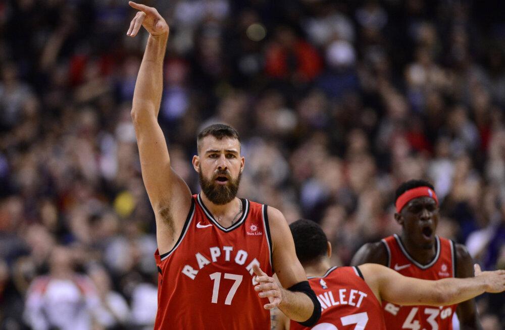 NBA valitsev tšempion otsustas leedulase meistrisõrmusest ilma jätta