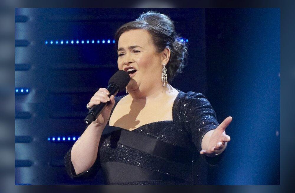 VIDEO: Kaks sensatsiooni kohtuvad! Susan Boyle <em>vs</em> Gangnam style!