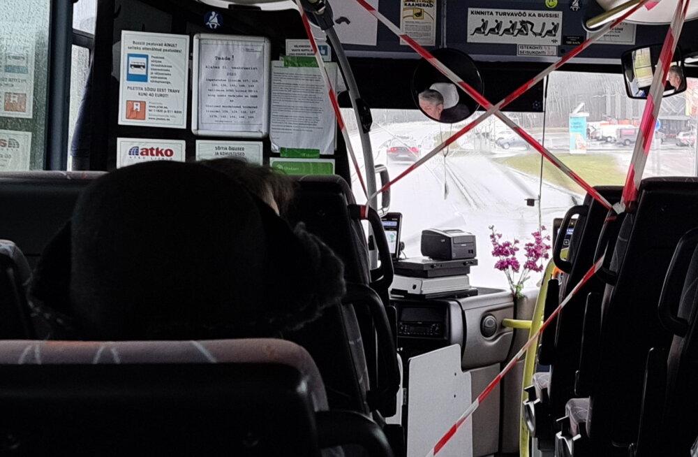 Koroona teine laine juba taandub? Harjumaal avanevad taas busside esiuksed ja taastub piletimüük