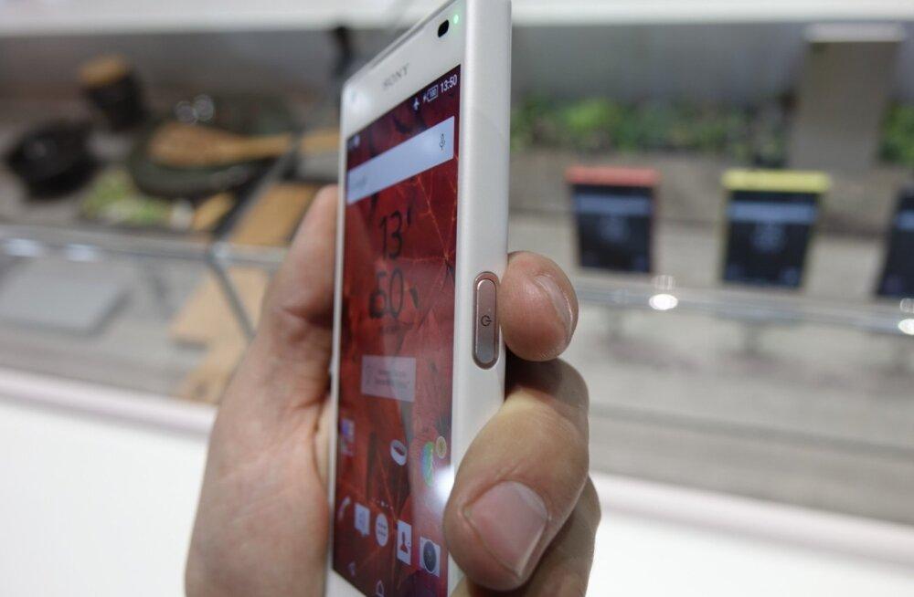Sony Z5 Compacti sõrmejäljelugeja
