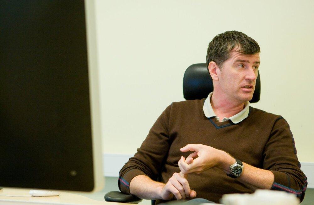 Arhiivifoto Sten Soosaarest e-kooli juhina 2010. aastal.