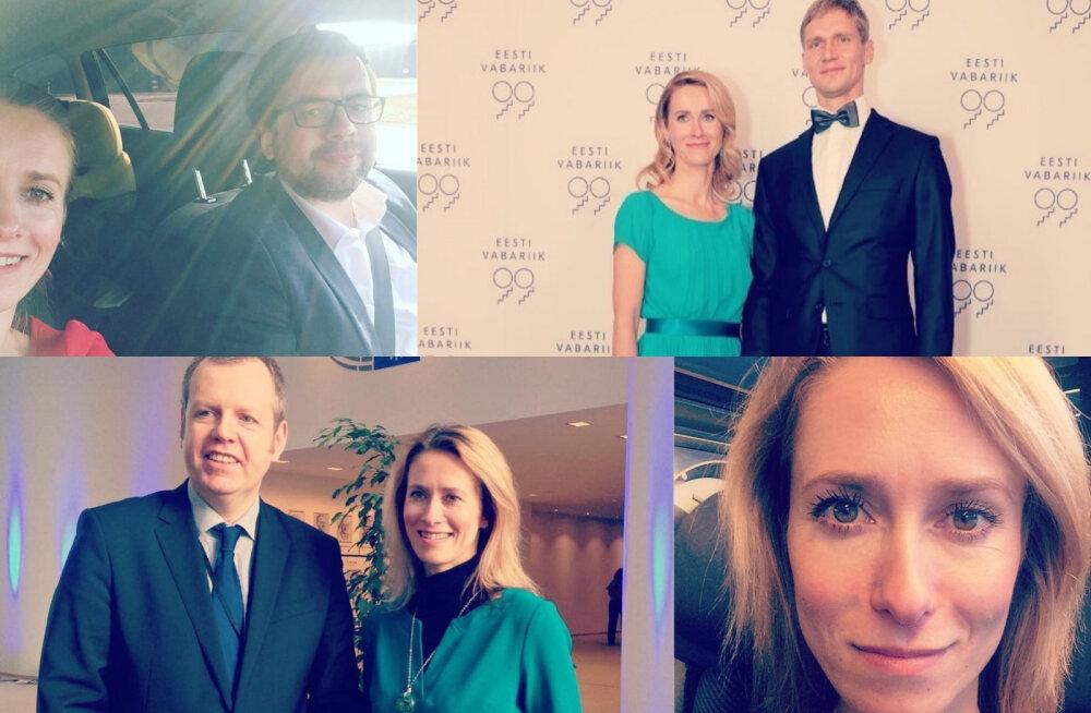 FOTOD   Kaja Kallase digijälg: Missugust elu elab Reformierakonna uus juht sotsiaalmeedias?