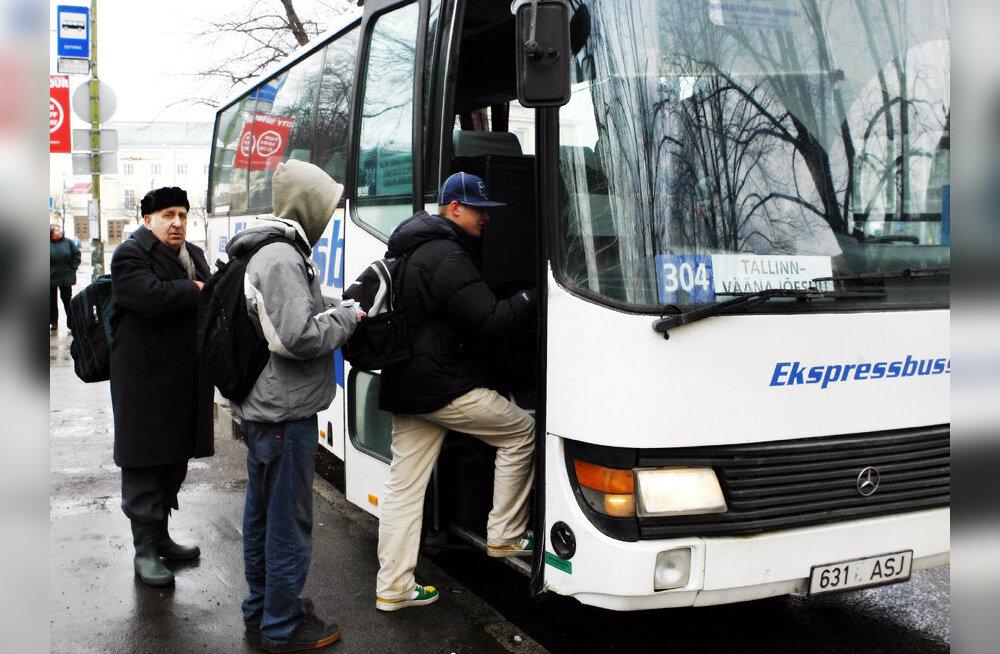 Suurimad bussiettevõtted kohtuvad ministriga