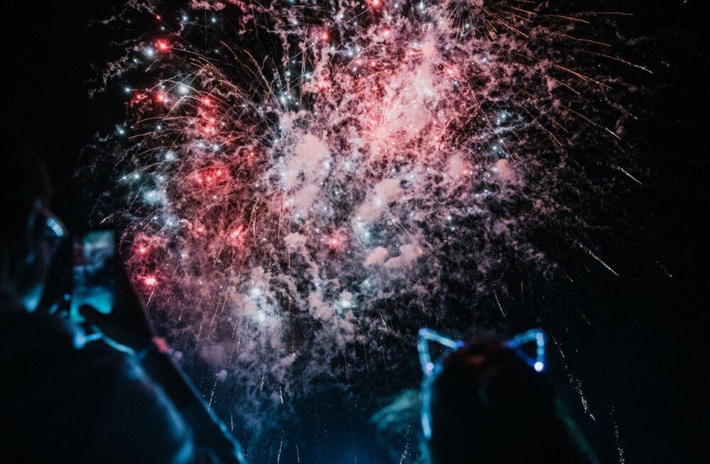 Weekend Festival 2018 ilutulestik